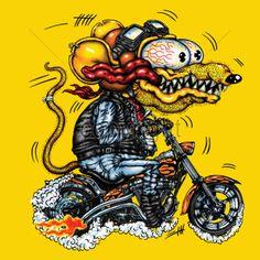 Rat Fink Biker.jpg (1600×1600)