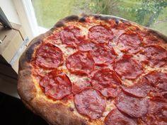 Monday chorizo pizza #pizza #food #foodporn #yummy #love #dinner #salsa #recipe