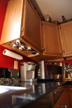 Keurig k-cup and vue cup holder or storage cabinet   Keurig ...