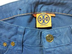 Tory Burch Ombre Super Skinny Jeans Size 28  #ToryBurch #SlimSkinny - available on eBay The_Grass_Harp w/ more pics...