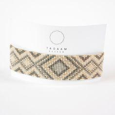 Bracelet 100% fait à la main en France !! ► DESCRIPTION Longueur du bracelet : entre 13 et 14 cm de tissage + 5 cm de chaînette d'extension grâce à laquelle le brace - 16883177