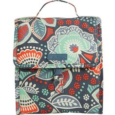 Vera Bradley Lunch Sack ($29) ❤ liked on Polyvore featuring home, kitchen & dining, food storage containers, lunch bags, vera bradley lunch sack, vera bradley lunch bag, lunch sack and vera bradley