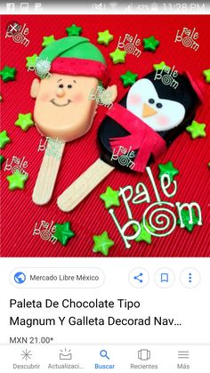Christmas Cake Pops, Christmas Treats, Christmas Ornaments, Christmas 2019, Xmas, Magnum Paleta, 16 Cake, Clay Design, Fondant Figures