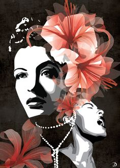 Billie Holiday by JaxAble on Deviantart