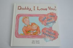 Daddy I Love You Unique keepsake board book  9 by JJGiftBooks