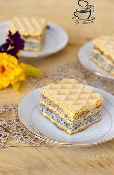 Romanian Desserts, Waffles, Sweet Treats, Food And Drink, Bread, Breakfast, Cakes, Knits, Valentines