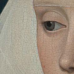 Portrait of a Lady (detail), Rogier van der Weyden