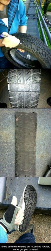 Tire shoes