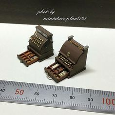 Miniature Machine ♡ ♡ By Miniature Plant