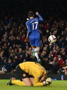 Match 12/13 - Man Utd (Capital One Cup) by Chelsea Football Club