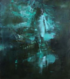 From The Pond Series - Painting by Tiina Heiska
