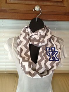 University of Kentucky Gray and White Chevron by LilCsBoutique, $22.00