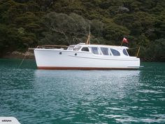 Classic Kauri planked boat launched in New Zealand in 1961.