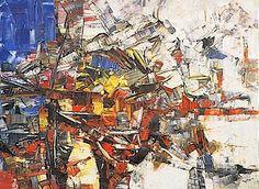 Jean-Paul Riopelle. Follow the biggest painting board on Pinterest: www.pinterest.com/atelierbeauvoir