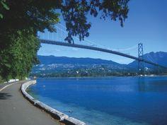Stanley Park Sea Wall Vancouver