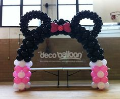 Balloon Decoration, My Deco Balloon Minnie Mickey Mouse Balloon Decorations