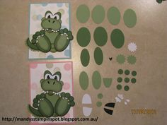 Stampin Up Punch Art   Mandy's Stampin Spot: Baby Dragon Punch Art