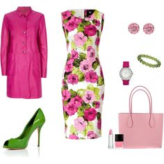 The Flowers Have Bloomed, created by #archimedes16 on #polyvore. #fashion #style D&G Jil Sander