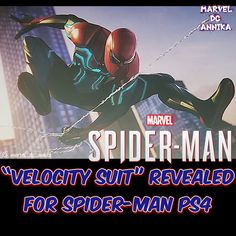 The third and final pre-order bonus suit is the Velocity Suit! Designed by acclaimed comic book and film costume designer Adi Granov for Spider-Man PS4     #avengersinfinitywar #avengers4 #avengers #infinitywar #marvel #marvelstudios #marvelcomics #marvelphase3 #steverogers #antman #tonystark #ironman #thor #captainmarvel #captainamerica #blackwidow #blackorder #hulk #spiderman #thanos #blackpanther #starlord #spidermanps4 #avengersassemble #velocitysuit #eternals #antmanandthewasp…