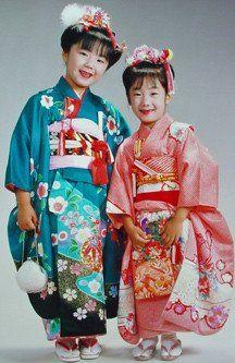 110-GIRLS:Ten Pounds Vintage Girls Japanese Kimono,Silk