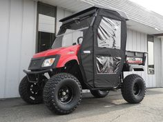 The second of two American SportWorks Landmaster LM400 side-by-side UTVs that we customized to meet the specific wants and needs of a client in Kentucky. We converted this vehicle to run on propane and installed a hinged-door enclosure and roof-mounted amber strobe light. Whatever your needs, we can equip your Landmaster UTV to get the job done!  #AmericanSportWorks #Landmaster #LM400 #sidebyside #UTV #madeinUSA #offroad #snowplow #propane #PowerEquipmentSolutions #PES #Vandalia #Ohio