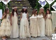 Resultado de imagem para vestido comunion