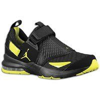 NIKE Men's Jordan Jumpman Trunner 11 LX Sneaker Shoes Black/Yellow on Sale