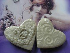 2 Pearl Hearts by sotelosally, via Flickr
