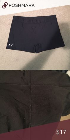 spandex short tight, little worn down on the back of them (pic 2) Under Armour Shorts