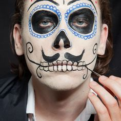 men Halloween Face Paint Ideas | Google Image Result for ... | Face Painting Ideas