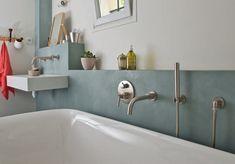 wasserfeste Oberflächen Wandputz online kaufen Beton Design, Decoration, Bathtub, Bathroom, Chic, Home Decor, Style, Photos, Concrete Bathroom
