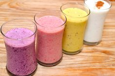 4 Ways to Make a Fruit and Yogurt Smoothie via wikiHow.com
