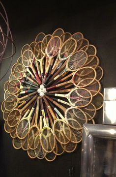 Tennis Display from Los Angles | tedkennedywatson.com