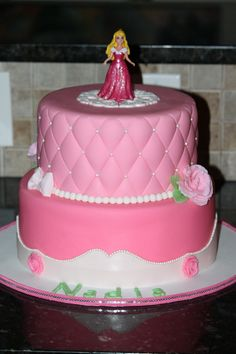 Sleeping Beauty Birthday Cake