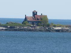 Abandoned Coast Guard Station-Kittery Point ME