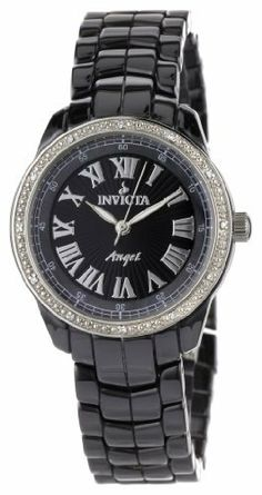 Invicta Women's 0725 Angel Collection Diamond Accented Ceramic Watch Invicta, http://www.amazon.com/dp/B004WMMDVQ/ref=cm_sw_r_pi_dp_8Cv-qb1JCB9BE