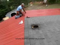 HOW TO MEASURE AND INSTALL MULTI RIB OR ARMOUR RIB METAL ROOFING PART 2 - YouTube