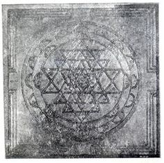 The Optimal Sri Yantra, from Sringeri temple