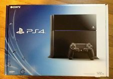 Sony Playstation 4 Black Console 500 GB NEW