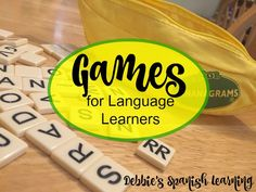 {Affiliate links used.}     I love adding games into my language teaching. Games break up the monotony and give students an alternate w...