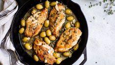 Pearls Olives - Caper and Olive Chicken