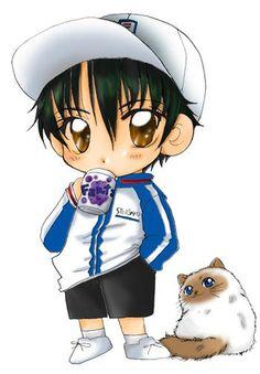 Chibi Ryoma! <3 Prince of Tennis