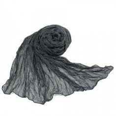 http://www.artfire.com/ext/shop/studio/bohemiantouch/1/1/10311//  Black and White Little Star Print Soft Touch Women Shawl Scarf, scarf is a great addition to your collection of fashion accessories. Perfect for all year round.