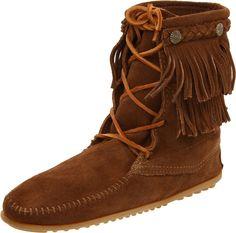4ab9875b44e33 Minnetonka Women s Ankle Hi Tramper Boot