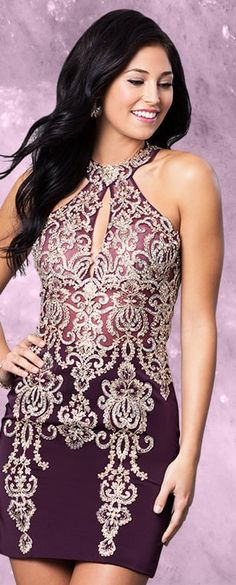 JVN by Jovani ONLY IF IT WAS LONGER !!! SO CUTE !!!! I WOULD WEAR IF THIS WAS A LONG DRESS