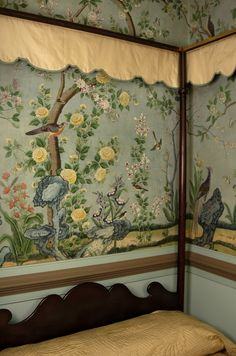 Winterthur-Philadelphia Bedroom Chinoiserie