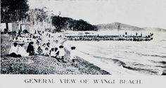 General View of Wangi Beach, Wangi, NSW [n.d.] | by UON Library,University of Newcastle, Australia Newcastle Town, Tourist Info, Library University, Old Maps, Central Coast, Postcards, Australia, History, Beach