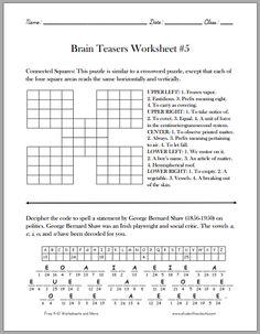 brain teasers for kids pdf