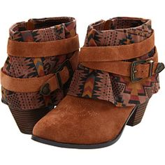 """""""Betsey Johnson Yazmin #betsey"""" - No one likes you, stupid Western-inspired ankle boot."""