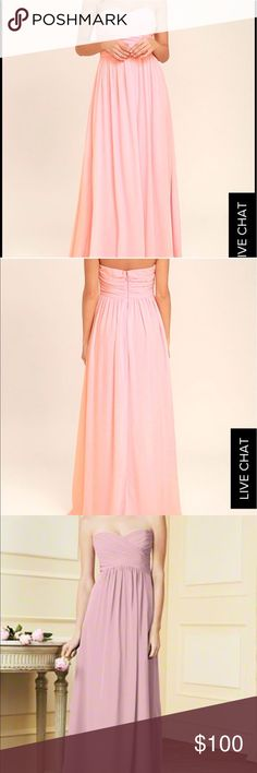 🆕✨Strapless Alfred Angelo Dress in TeaRose Pink BUY WITH CONFIDENCE! I am a 100% positive rated seller as well as a Suggested User on Poshmark! .............................................................................. OFFERS Welcome, use the offer button⬇️ .............................................................................. ABOUT THIS PRODUCT: -No Trades Accepted -Size: 2 -Condition: Worn Once  -Shipping: Ships within two days! Dresses